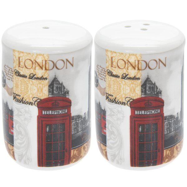 NEW LONDON SALT & PEPPER