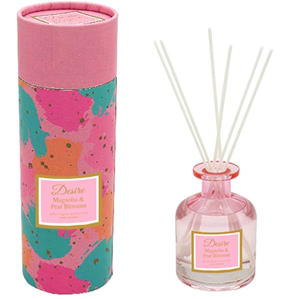 PINK GLASS DIFFUSER 200ML