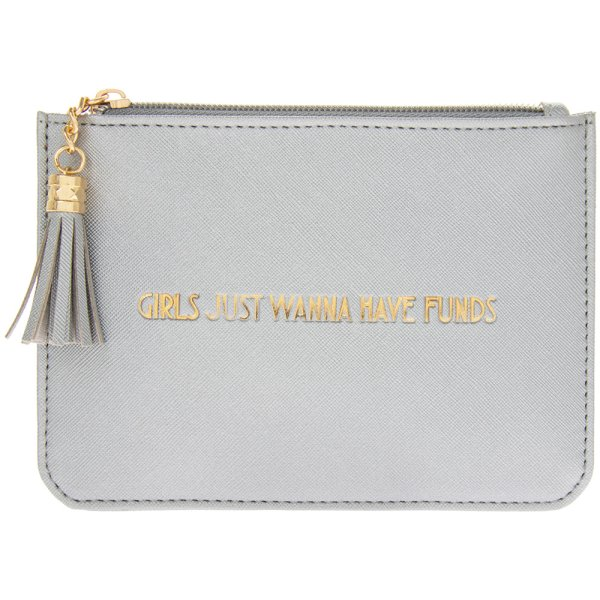 SHINE BRIGHT SILVER COIN PURSE