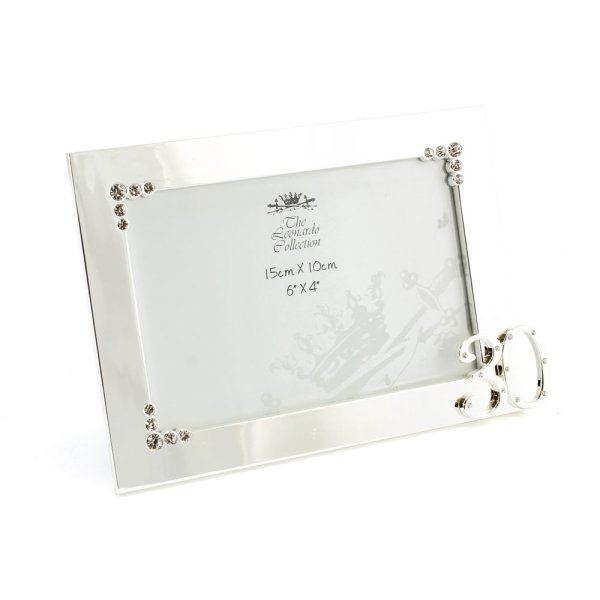 SILVER PLATED FRAME 30TH