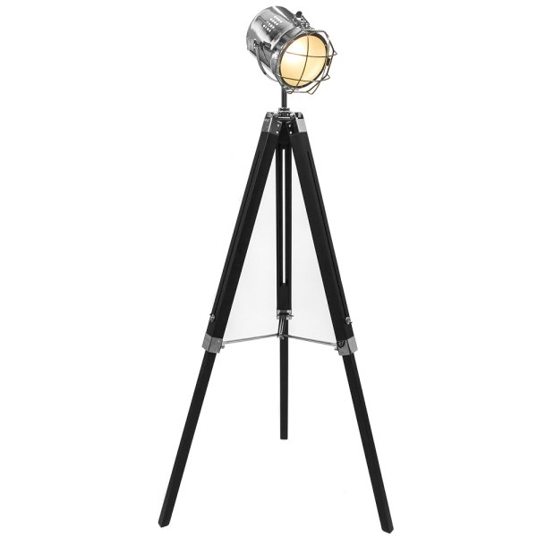 HOLLYWOOD TRIPOD FL/LAMP BLACK