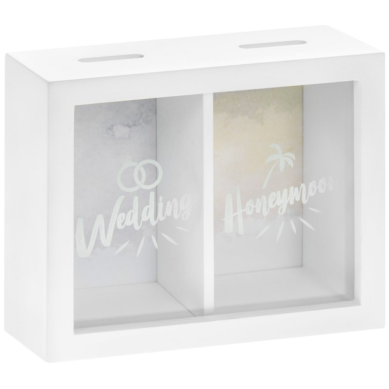 WEDDING & HONEYMOON MONEY BOX