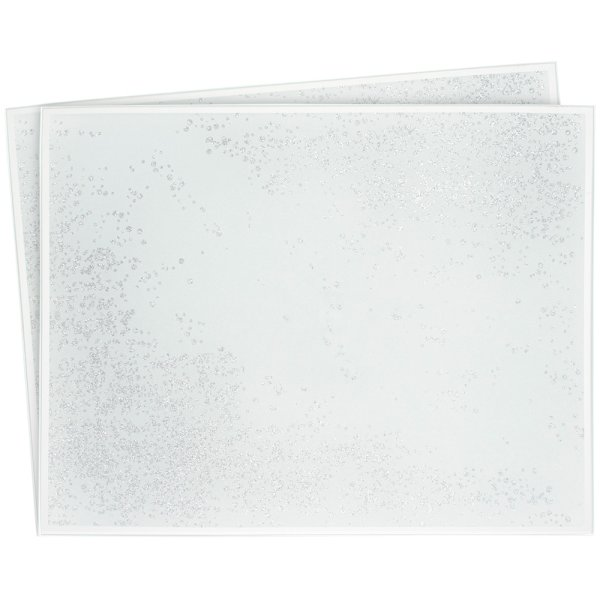 SILVER GLIT PLACEMATS S2