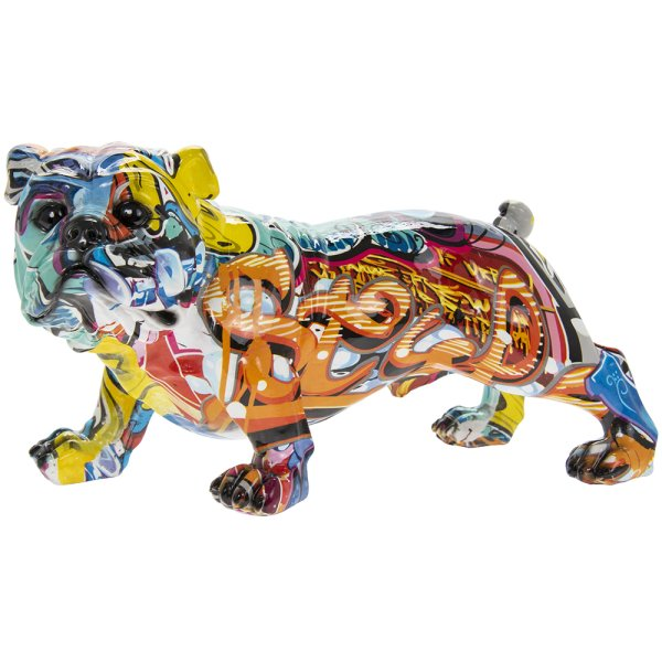 GRAFFITI ART BULLDOG S