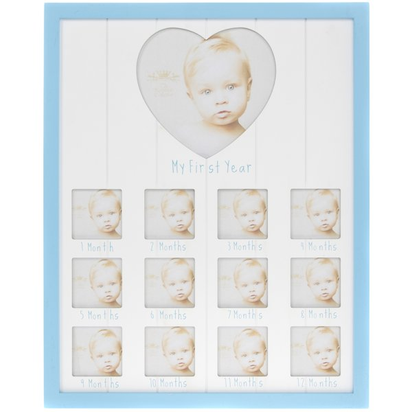 SENTIMENTS BLUE 1ST YEAR FRAME