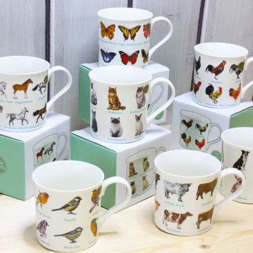 ANIMAL BREED MUGS