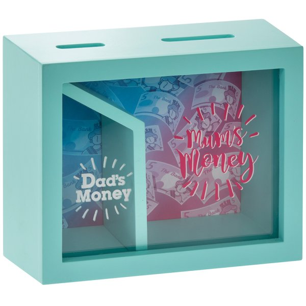 MUM & DAD MONEY BOX