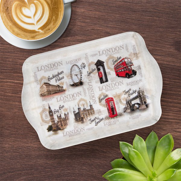 VINTAGE LONDON TRAY SMALL
