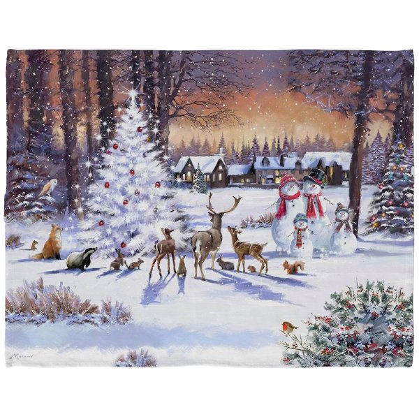 MAGIC CHRISTMAS TEA TOWEL