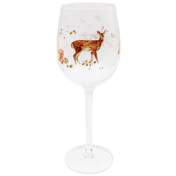 WINTER FOREST WINE GLASS