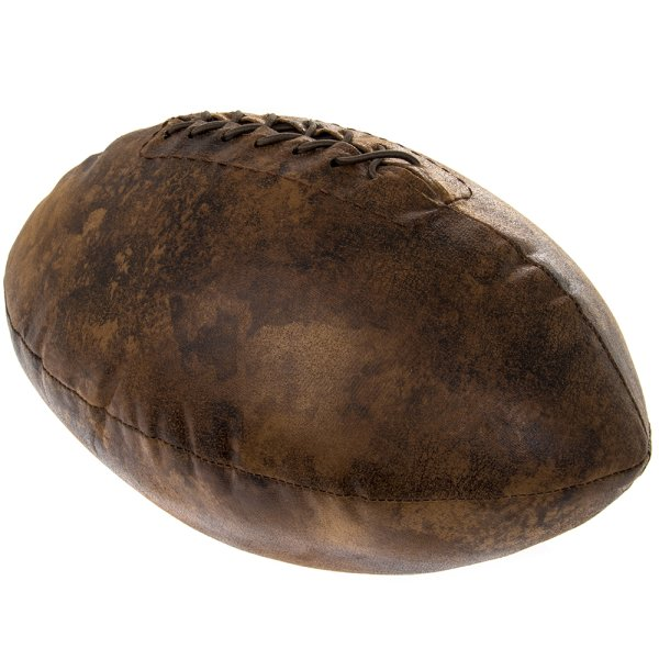 FAUX LEATHER RUGBY DOORSTOP
