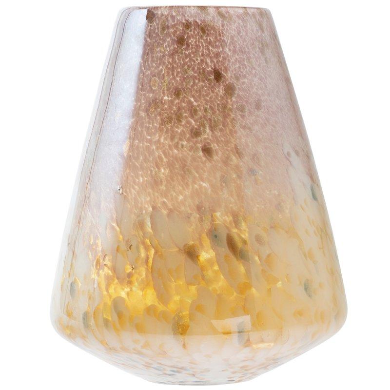 VINCENZA GLASS VASE 28CM