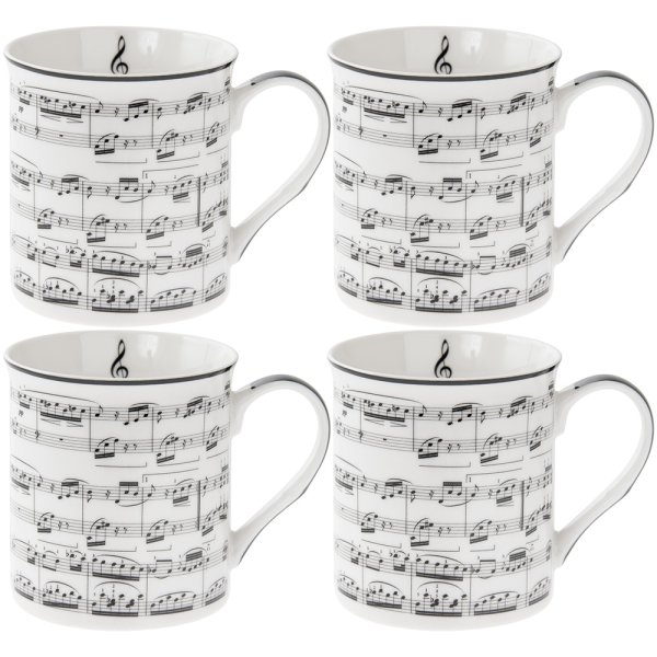 MAKING MUSIC MUGS SET 4
