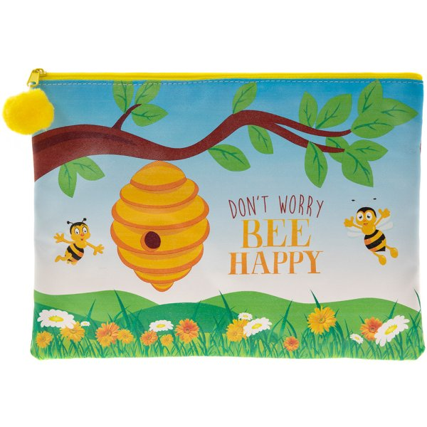 BEE HAPPY CLUTCH PURSE
