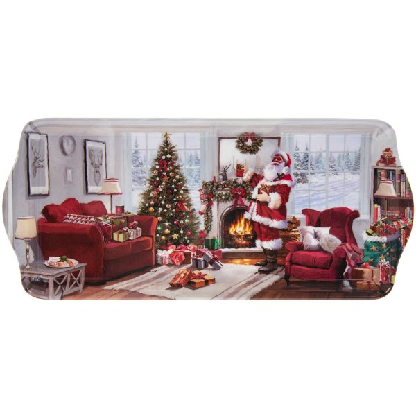 CHRISTMAS SANTA TRAY MEDIUM