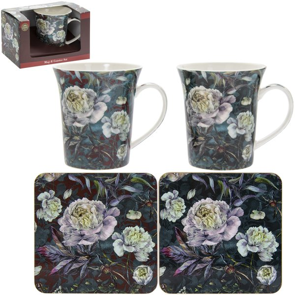 CHRYSANTHEMUM MUG & COASTER