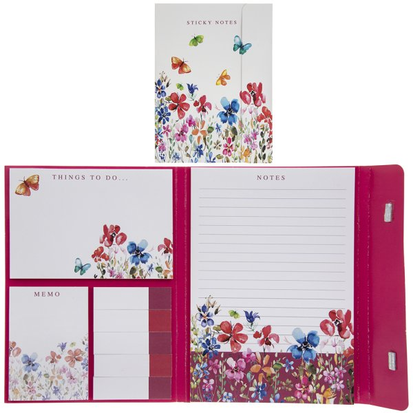 BUTTERFL MEADOW STICKY NOTES