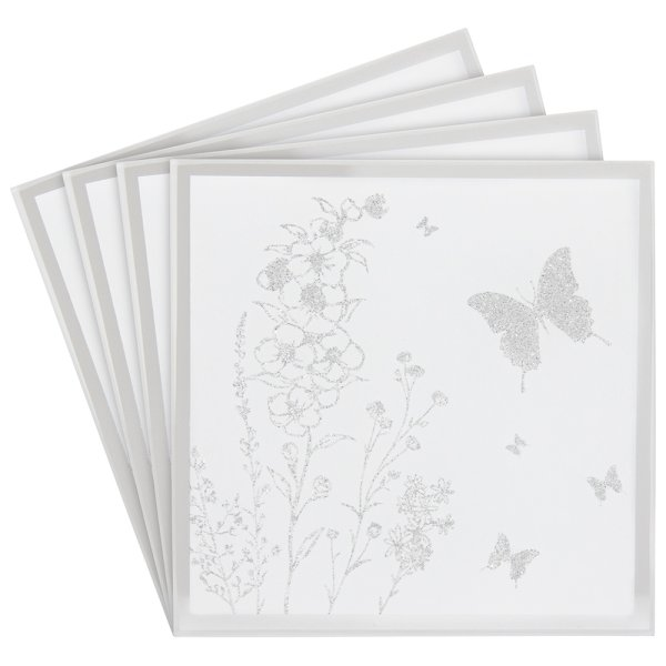 MIRROR BUTTERFLY COASTERS