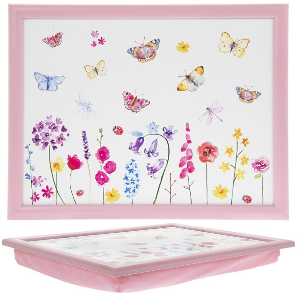 BUTTERFLY GARDEN LAPTRAY