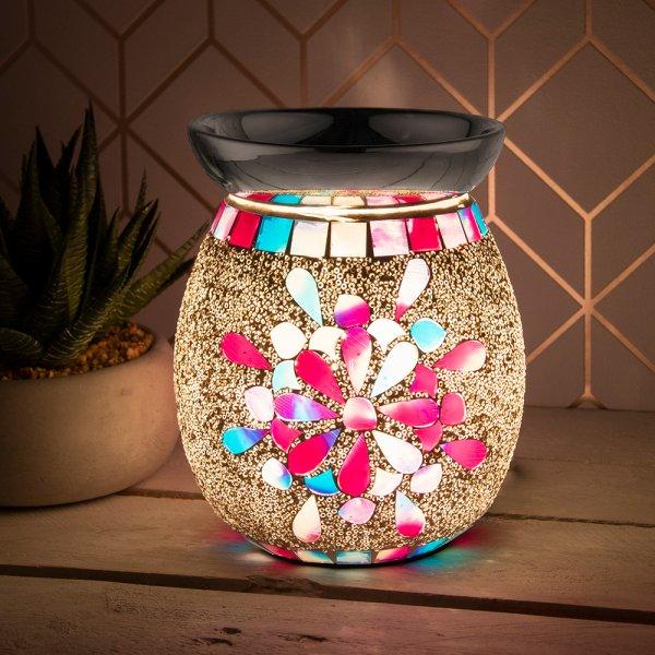 DESIRE AROMA LAMP MOSAIC PINK