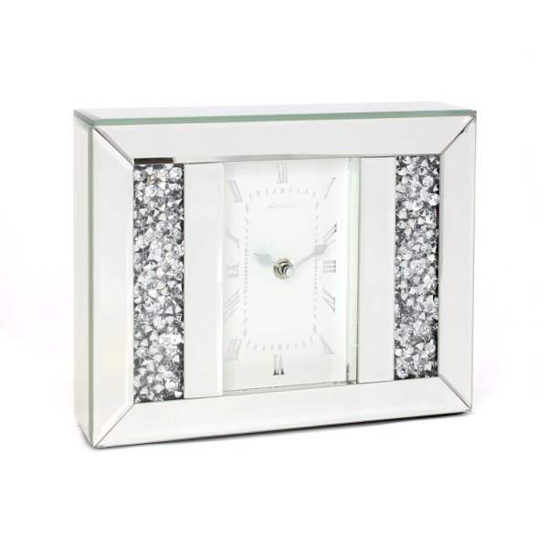 CRYSTAL MIRROR CLOCK
