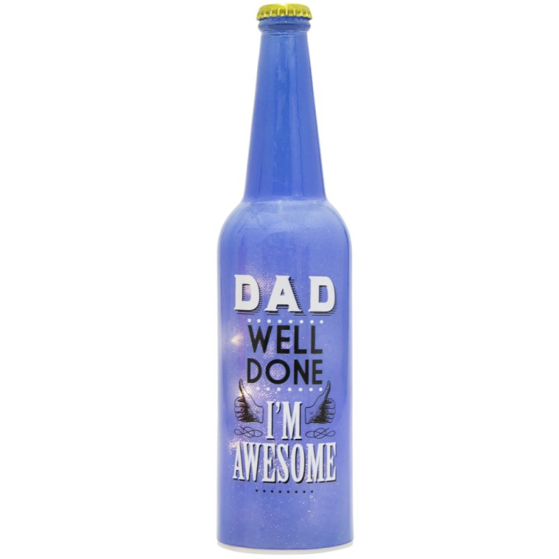 LED BOTTLE DAD I'M AWESOME
