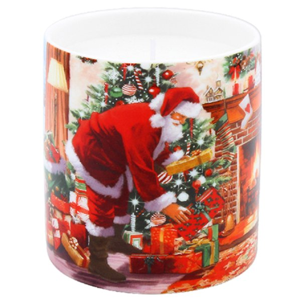 SANTA SCENTED CANDLE