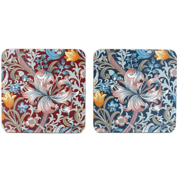 GOLDEN LILY COASTERS S4