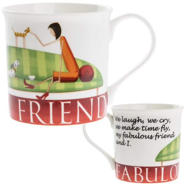 FABULOUS FRIENDS MUG