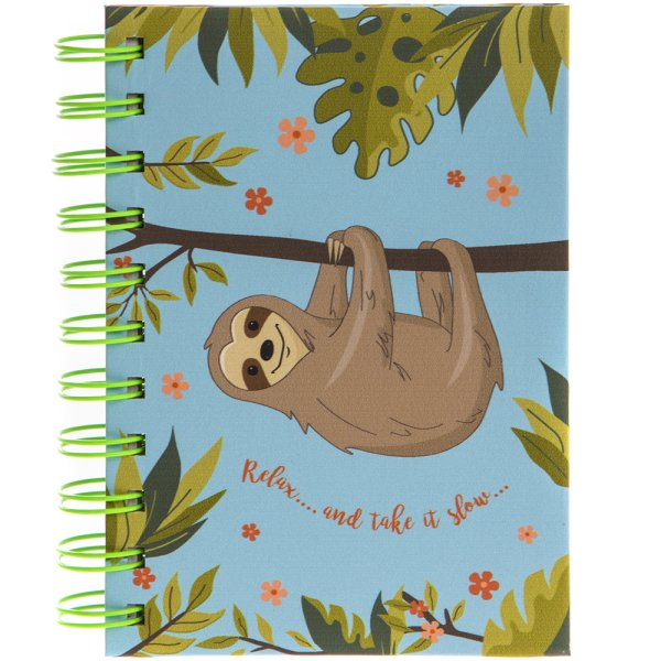 SLOTH NOTEBOOK A6