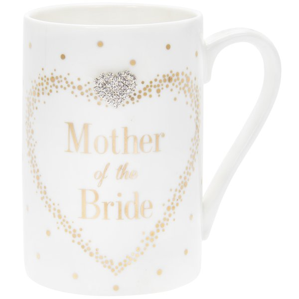 MAD DOTS MOTHER OF BRIDE MUG