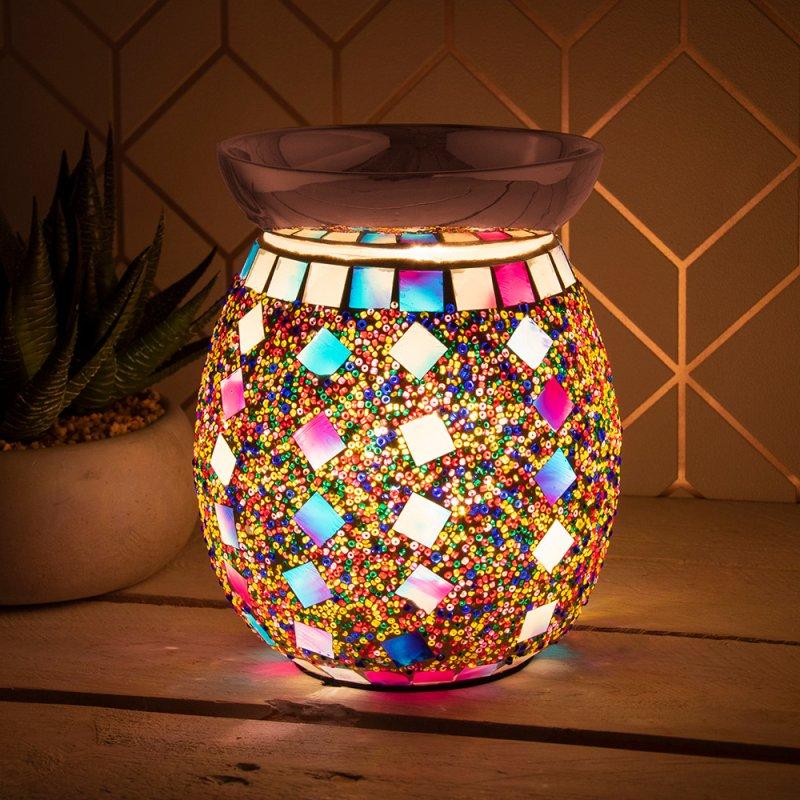 DESIRE AROMA LAMP MOSAIC MULTI
