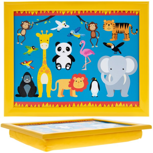 LITTLESTARS ZOO ANIMAL LAPTRAY
