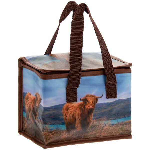HIGHLAND COW LUNCH BAG