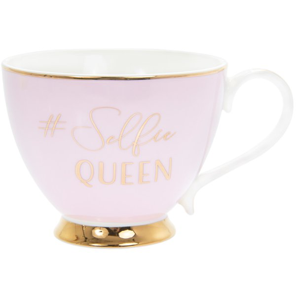 LET'S PARTY SELFIE QUEEN MUG