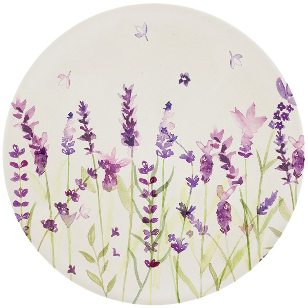 LAVENDER BAMBOO PLATE