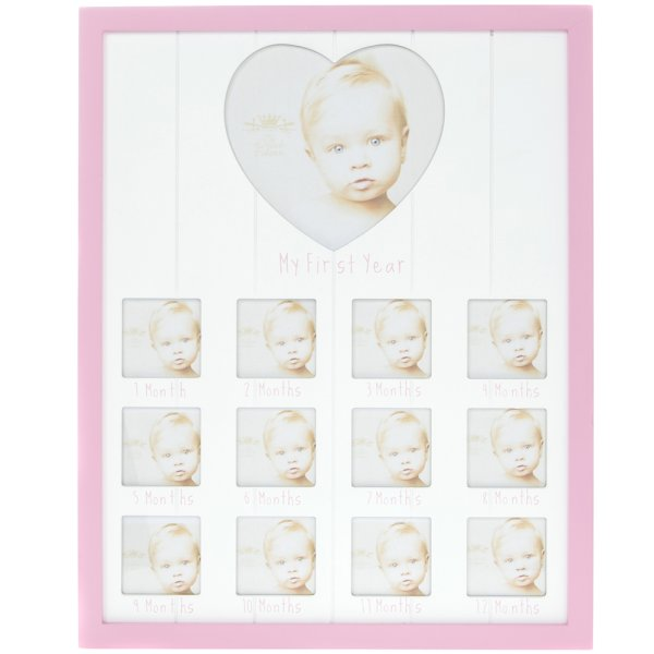 SENTIMENTS PINK 1ST YEAR FRAME