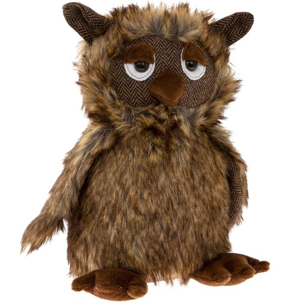 OWL DOORSTOP BROWN