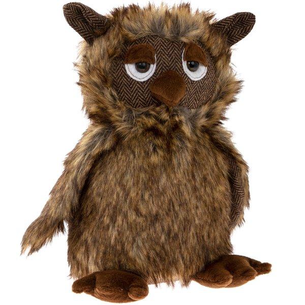 OWL DOORSTOP BROWN