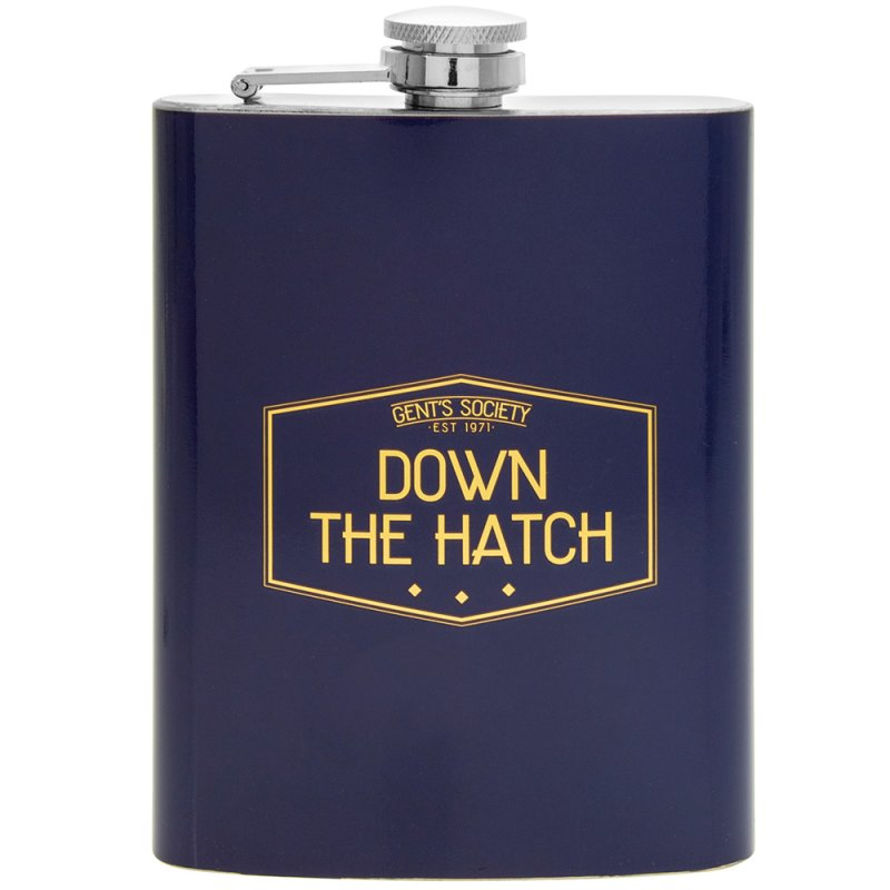 GENTS SOCIETY HIP FLASK