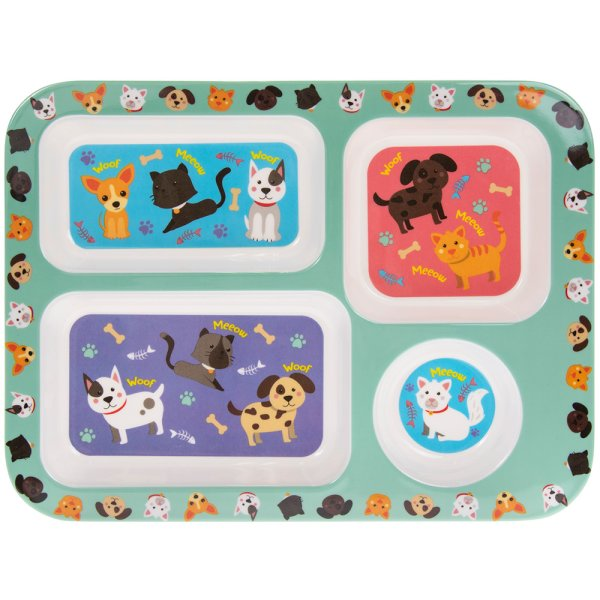 CATS & DOGS TRAY