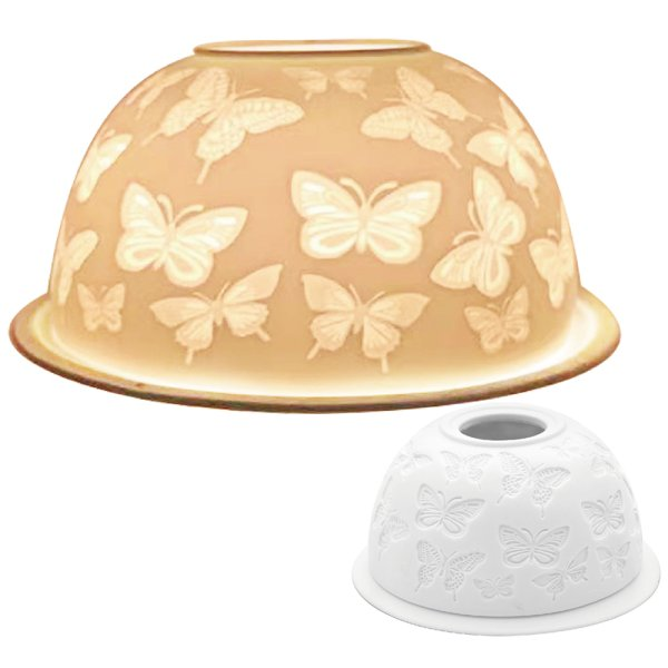TEA LIGHT HOLDER BUTTERFLY