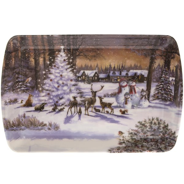 MAGIC CHRISTMAS TRAY SMALL