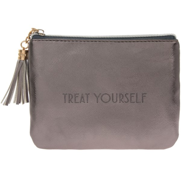 SHINE BRIGHT METALLIC PURSE
