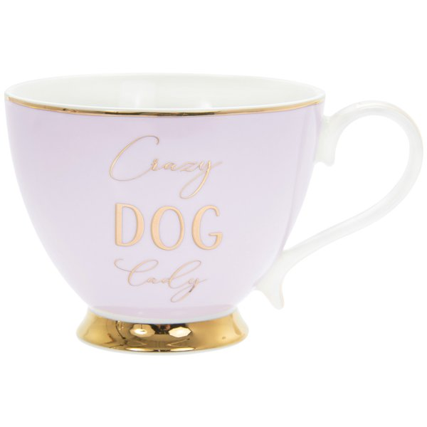 LET'S PARTY DOG MUG