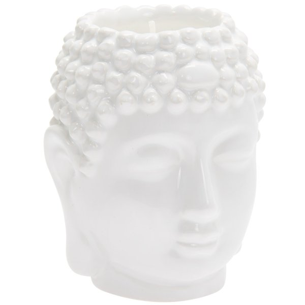 DESIRE BUDDHA CANDLE WHITE