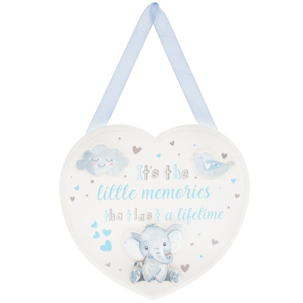 BIRD & ELLIE PLAQUE BLUE