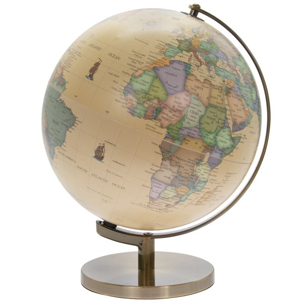 GLOBE VINTAGE LIGHT UP