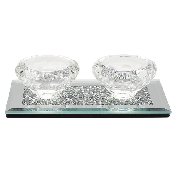 MULTI CRYSTAL TLIGHT HOLDER DB