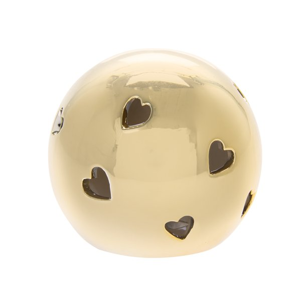 GOLD HEART LED BALL S
